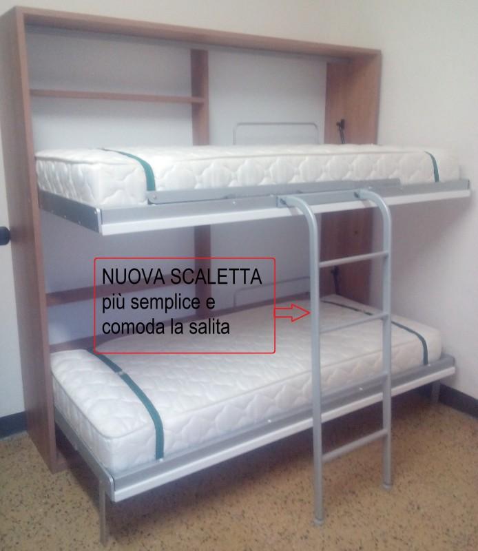 Letto A Scomparsa Napoli ~ Ispirazione Interior Design & Idee Mobili