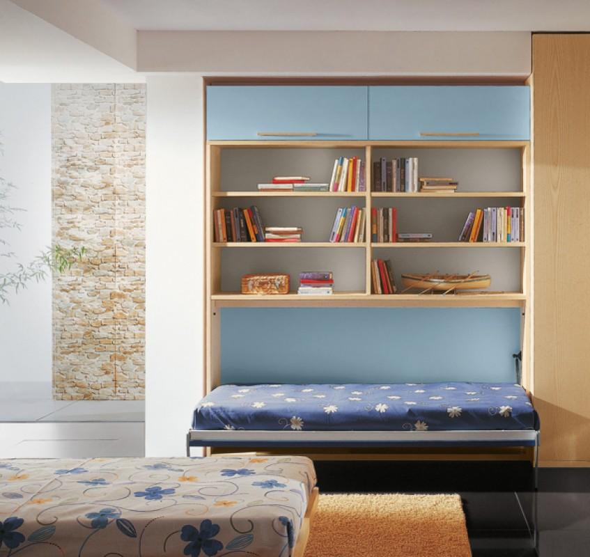 Letto Singolo Con Armadio Sopra - The Homey Design